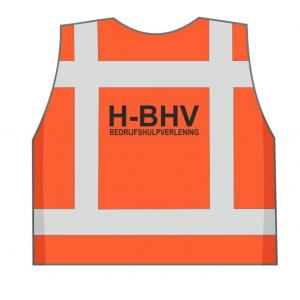H-BHV veiligheidshesje oranje