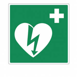 AED pictogram (bordje 1mm PP)